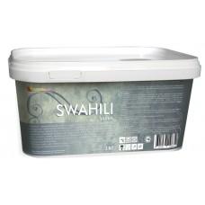 SWAHILI - декоративная краска с эффектом сияющих кристаллов. Легко колеруется в различные оттенки, не требует дополнительной защиты от воздействия влаги или пыли.